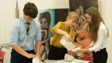6th Form Art lesson