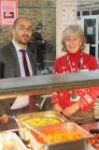 Staff & Governors serve Christmas Lunch