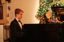 Owen at the Piano Christmas Concert 2018