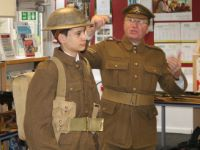 Year 9 History Lecture - WW1 uniform