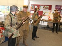 History Lecture Yr 9 Demonstrate WW1 & WW2 Clothing