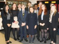 Hannah Lewis MBE, returns to TBSHS