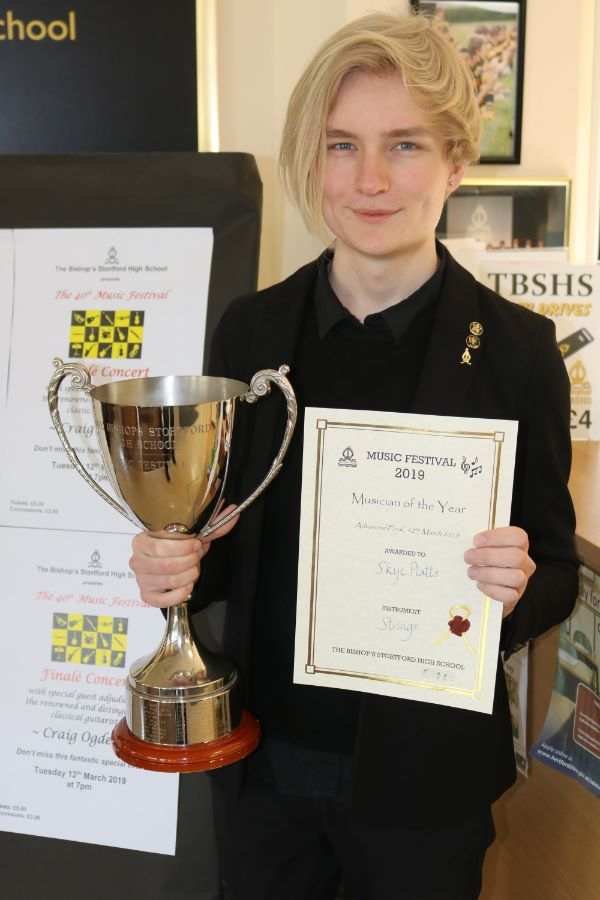 Skye Platts - Musician of the Year 2019