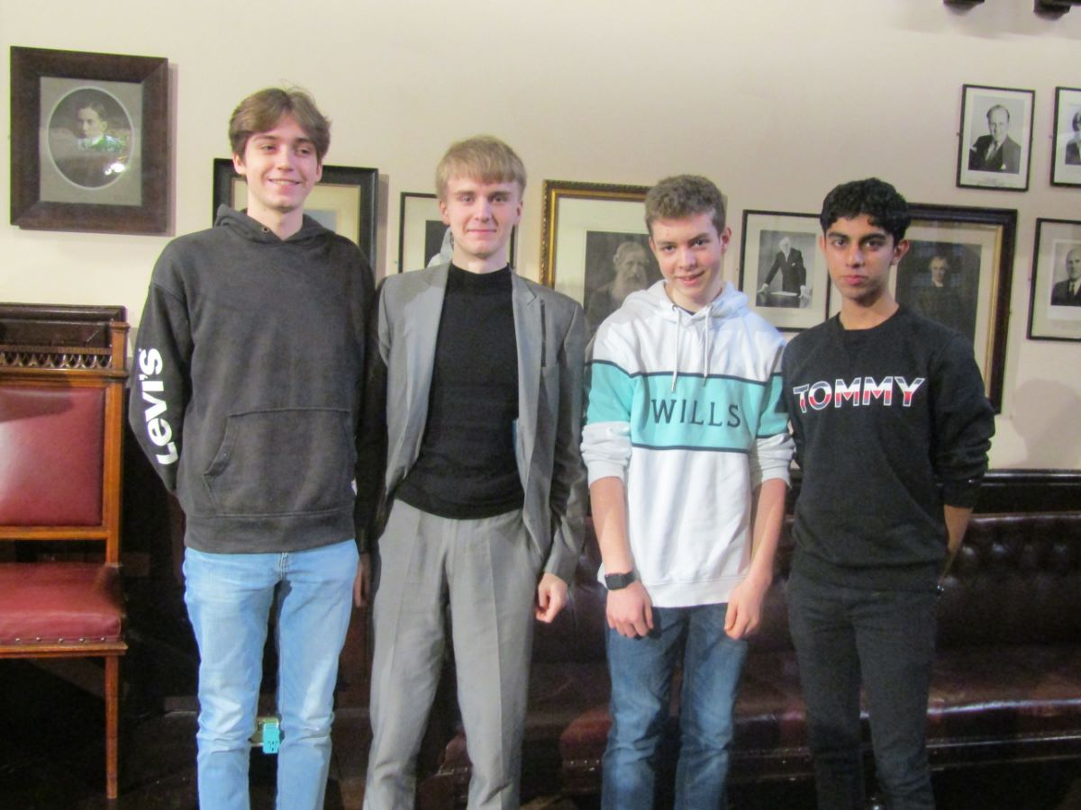 TBSHS Students speak at Cambridge Union