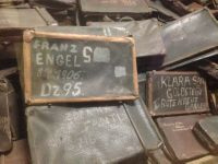 The stolen suitcase of Franz Engel, murdered at Auschwitz