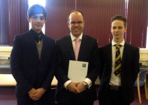Ben Brimmer & Lucas Crumb with Guest Speaker James Brunton