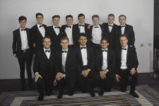 Such handsome young men! Leavers Ball, Radisson 2014