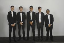 Four lovely boys - and Nathan. ;) Leavers Ball, Radisson 2014