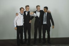 So how are we going to pose for this photo? Leavers Ball, Radisson 2014