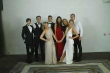 Ms Maher and the Drama Students, Leavers Ball, Radisson 2014