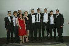 Dr Rae and her form, Leavers Ball, Radisson 2014