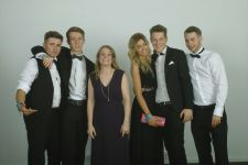 Miss Epton would like to stop having photos now please! Leavers Ball, Radisson 2014