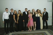 Miss De Wald and her students, Leavers Ball, Radisson 2014