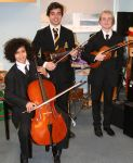 Strings Winners; Louis Jenkins Beginner Winner, Mark Sanderson (HC) & Chris Platts (Advanced Winner)