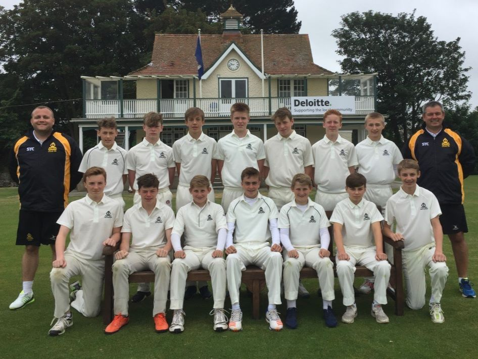 TBSHS U14s Cricket Tour to Guernsey, 2017