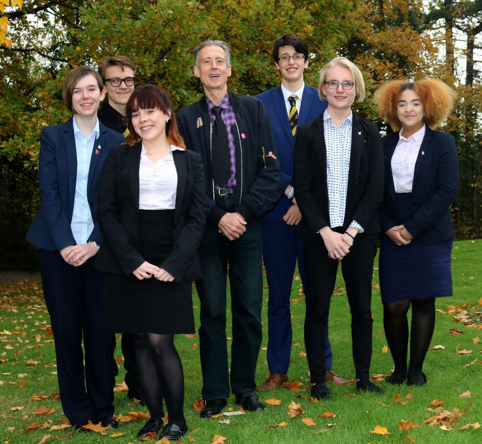 Peter Tatchell visits 6th form