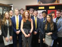 Former Head Girl speaks to 6th form