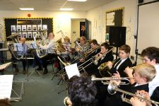 Brass Day in the Music Department