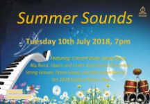 Coming Soon - Summer Sounds 2018